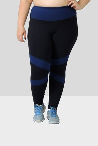 Legging com recortes frontais