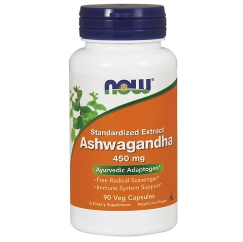 NOW FOODS ASHWAGANDHA EXTRACT 450MG | 90 CAPSULES