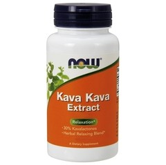 NOW FOODS KAVA KAVA 250MG | 120 CAPSULES