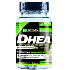 DHEA 100MG, 100 CAPSULES | NUTRAKEY (PAGUE 1 LEVE 2)