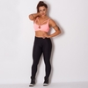 LEGGING FITNESS POLIAMIDA TEXTURA BUBBLE GU806