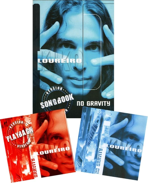No Gravity (CD - Autografado) + No gravity (SONGBOOK) + No Gravity Playback (CD - VERSÃO ECONÔMICA)