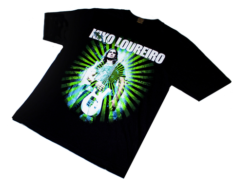 T-shirt Kiko Loureiro Green on internet