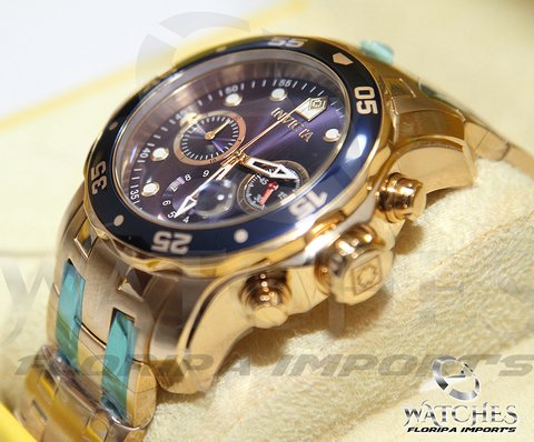 Relógio Invicta 0073 Pro Diver Collection Azul - Masculino