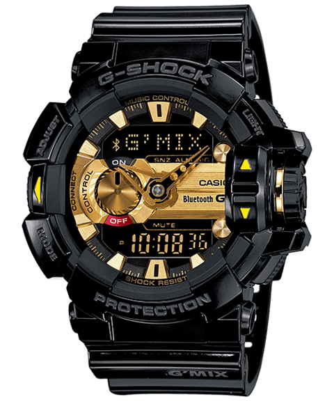 Relogio G-Shock GBA-400-1A9 G´Mix Bluetooth