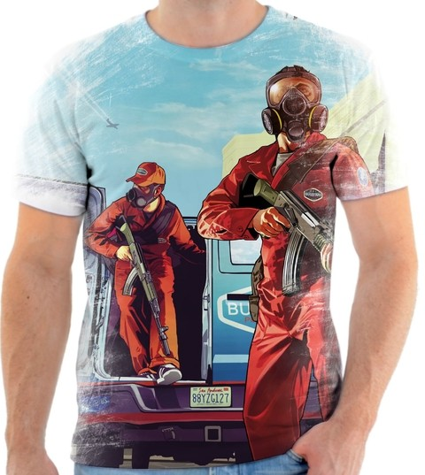 Camiseta - Game GTA 02