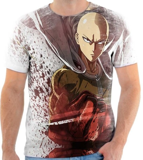 Camiseta - One Punch Man 02