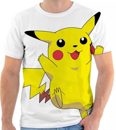 Camiseta Pokemon - Pikachu 03