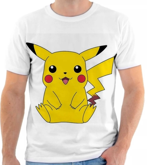 Camiseta Pokemon - Pikachu 05