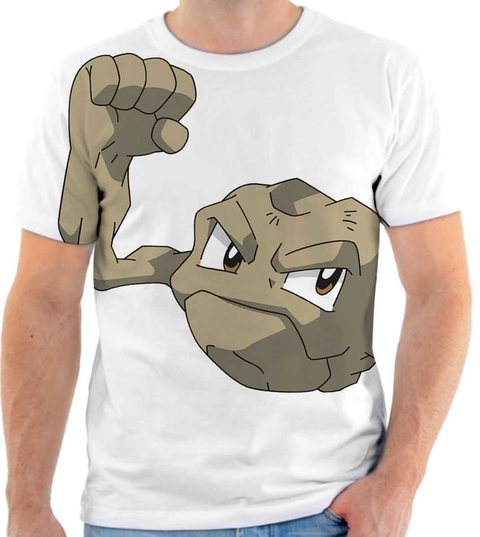 Camiseta Pokemon - Geodude