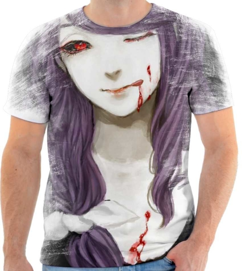 Camiseta - Rize tokyo Ghoul 01