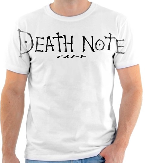 CAMISETA - DEATH NOTE 08
