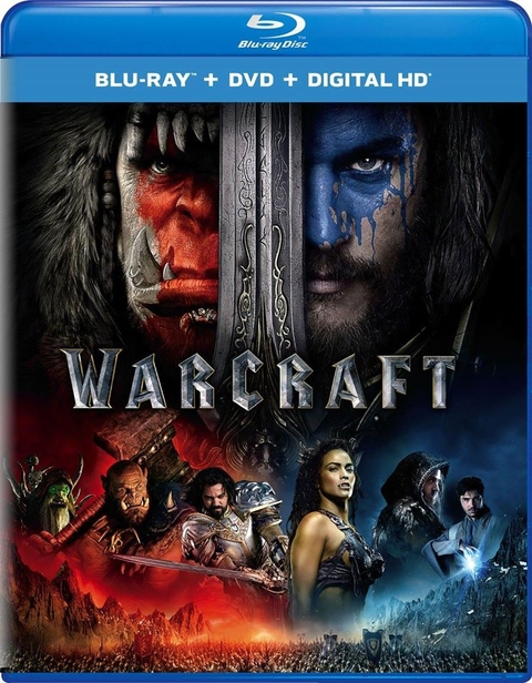 Warcraft Bluray Combo (Blu-ray + DVD + Digital HD)