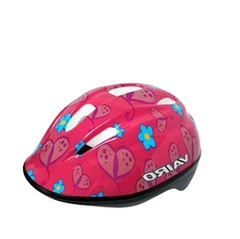 VAIRO CASCO KIDS FLOWERS PINK