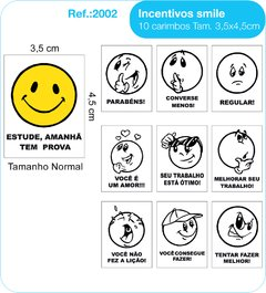 CARIMBOS EDUCATIVOS - SMILE