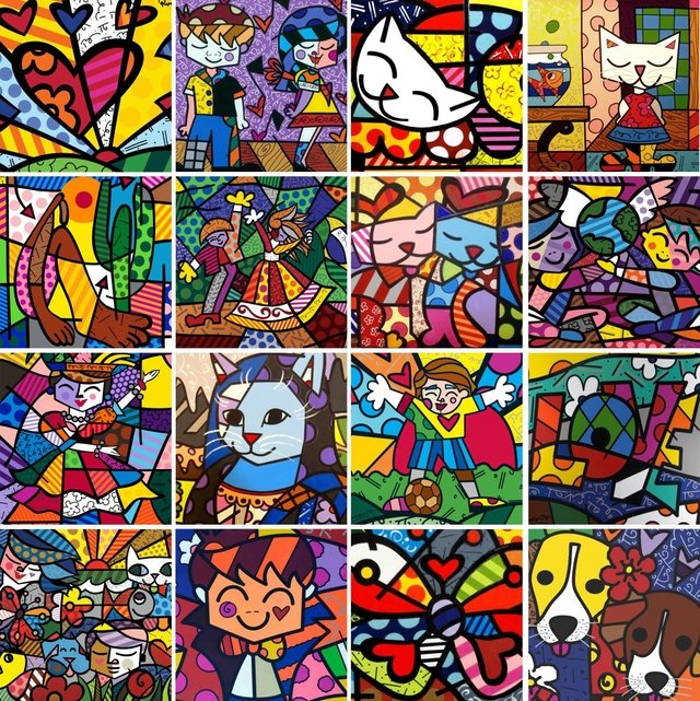 Image result for Romero Britto