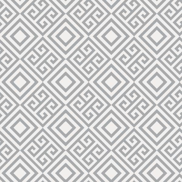 27262468e Papel de Parede Padrão Geométrico Cinza - comprar online