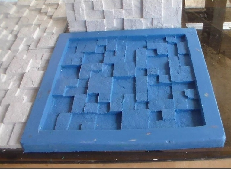 Formas para placa de gesso 3d moldes de silicone - Placas decorativas para pared interior ...