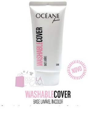 Base Lavável - Washable Cover Oceane Femme