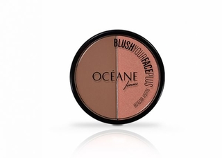 Duo Blush Your Face Plus Brown Orange Océane Femme