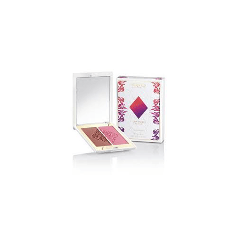 Duo de Blush KIKO - 03 Rosewood and Azalea Poker Collection