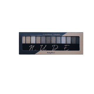 Nude - Kit de 12 Sombras Ruby Rose
