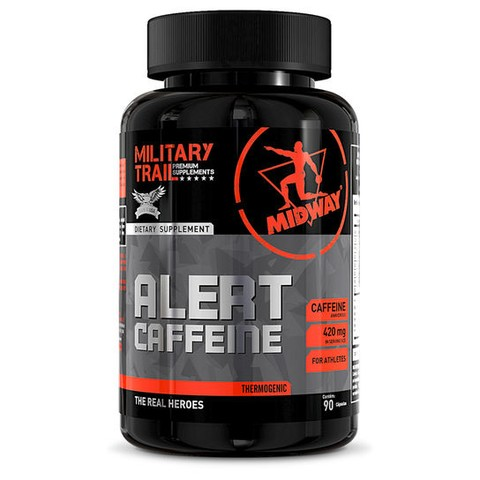 Alert Cafeína 90 Caps Military Trail