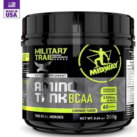 Amino Tank BCAA 3.500 300g Military Trail