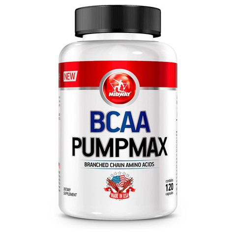 BCAA Pumpmax USA 120 Caps