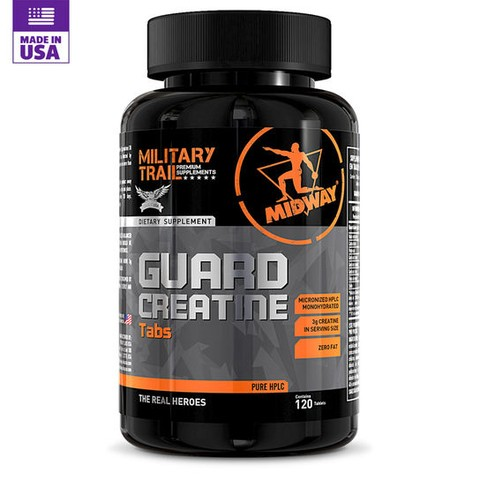 Guard Creatina 120 Tabs Military Trail