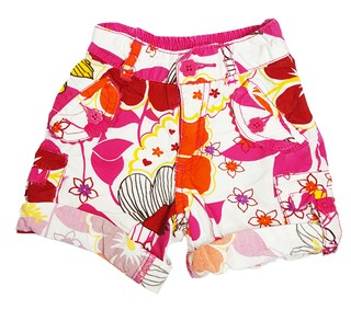 THE CHILDREN'S PLACE - bermuda floral - colorida - menina - 12 meses - comprar online
