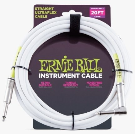 Cable Ernie Ball Ultraflex 6047 Plug Recto-Angular 6 Metros