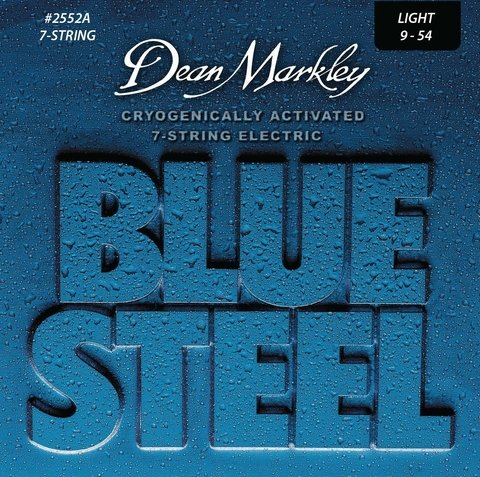 Enc. Dean Markley Blue Steel 9-54 (7 cuerdas)