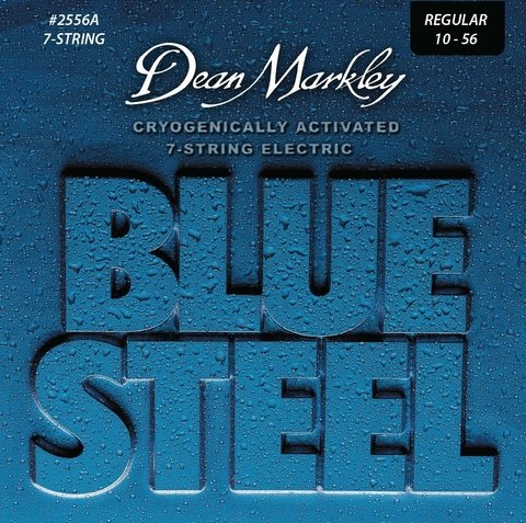 Enc. Dean Markley Blue Steel 10-56 (7 cuerdas)