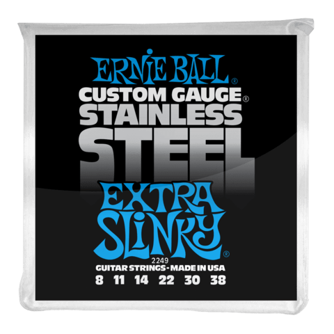 Enc. Ernie Ball Stainless Steel 2249 008-038