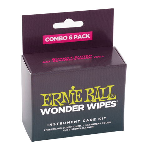 Wonder Wipes Ernie Ball 4279 Combo