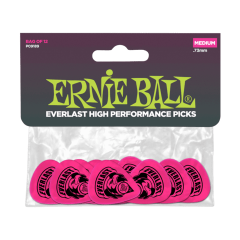 Puas Ernie Ball EVERLAST Fluorescent MEDIUM