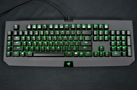Teclado Razer Gamer Mecânico Blackwidow Ultimate 2014