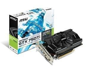 Placa de Vídeo VGA EVGA GeForce GTX 750 Ti 2GB DDR5 128 bits PCI-E 3.0 02G-P4-3751-KR
