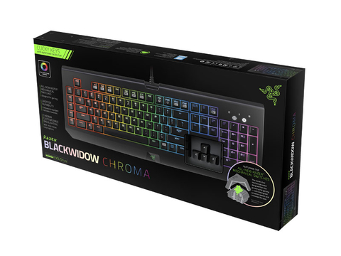 Teclado GAMER Razer Blackwidow Chroma