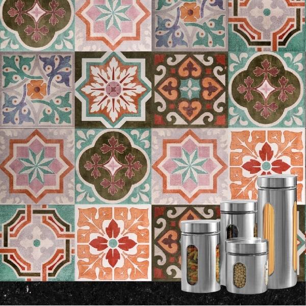 Adesivo azulejo vintage - Azulejos vintage ...