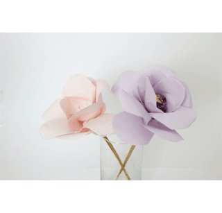 Luxury Paper Flowers Lila - Luxury Scents