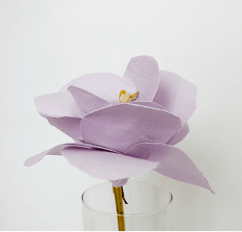 Luxury Paper Flowers Lila