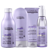 L'Oréal Professionnel Liss Unlimited Discipline Shine Kit (4 Produtos)