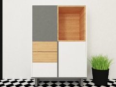 Mueble Collage alto