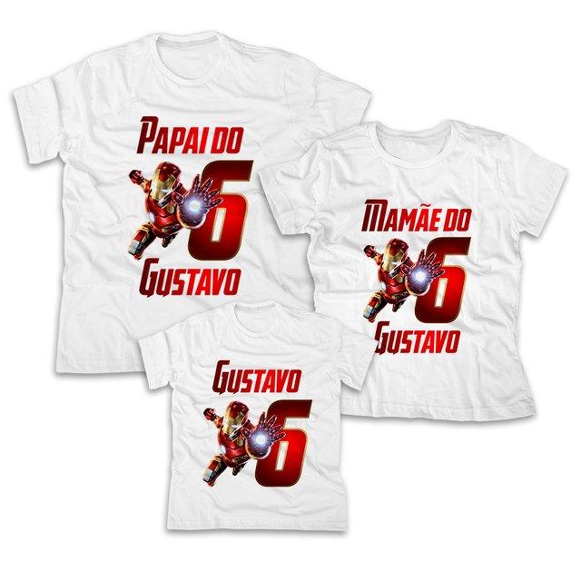 Camisetas Personalizadas Homem De Ferro Pixel Art Personalizados