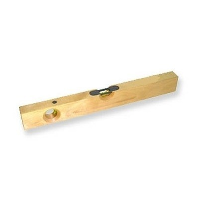 Nivel burbuja de madera precisi n 50 cm for Nivel de precision
