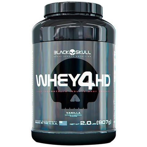 WHEY 4HD 907G BLACK SKULL