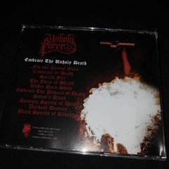 Unholy Force   Embrace The Unholy Death Cd - comprar online