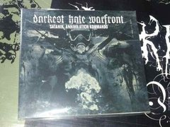 Darkest Hate Warfront - Satanik Annihilation  Cd